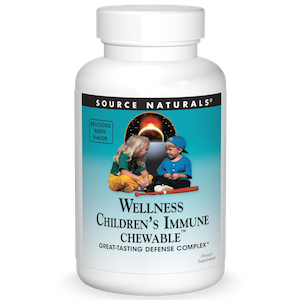 Source Naturals Wellness Children's Immune Chewable